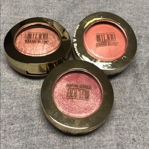 3 Milani Blushes